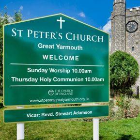Church Post Signs 8