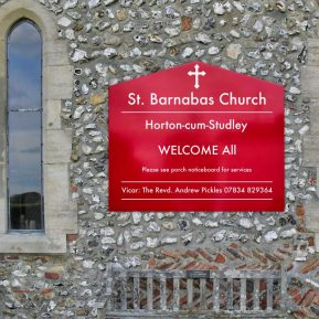 Wall Mounted Church Signs 4