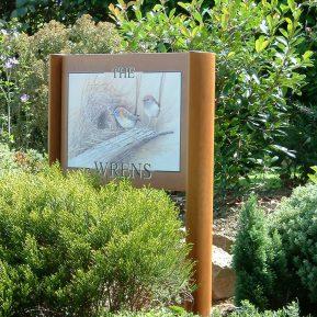 Wood Effect Church Signs 15